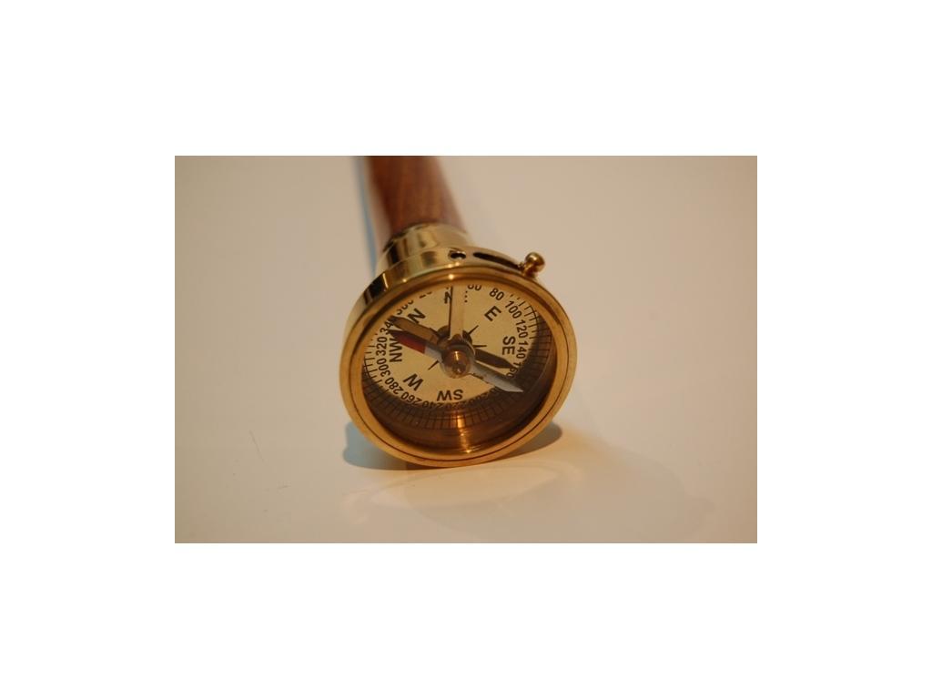 Бастун с компас