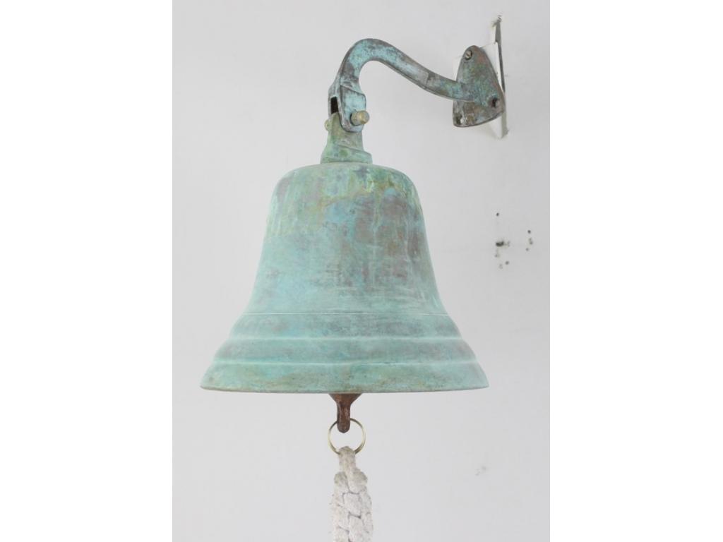 Корабна камбана антик от плътен месинг
