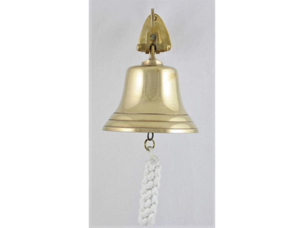Корабна камбана от плътен месинг полирана
